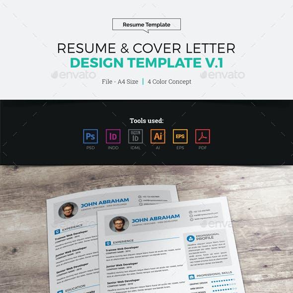 Resume & Cover Letter Design v1
