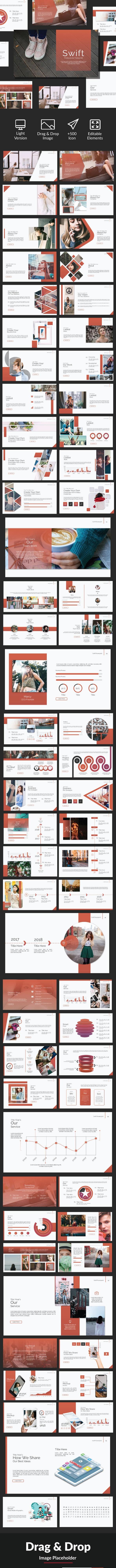 Swift Powerpoint Template - Business PowerPoint Templates