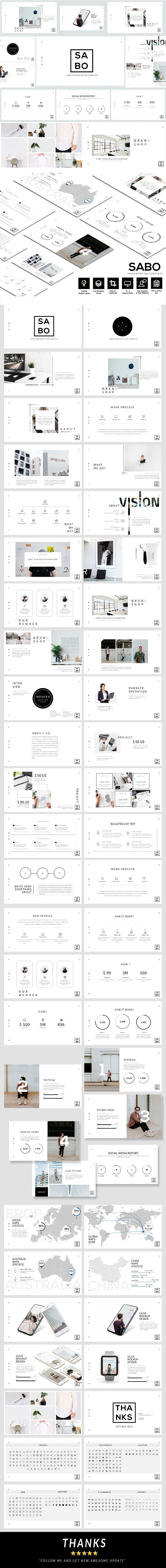 Sabo - Business Presentation Template - Business PowerPoint Templates