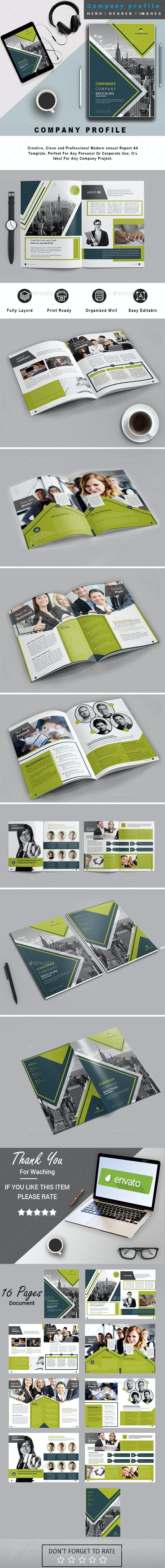 Corporate Business Multipurpose Company Profile #31 - Corporate Brochures