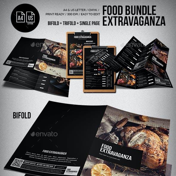 Multipurpose Extravaganza Food Menu Big Bundle
