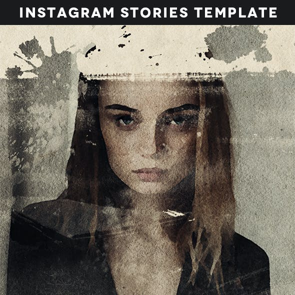 Animated Instagram Stories Watercolor Reveal Kit
