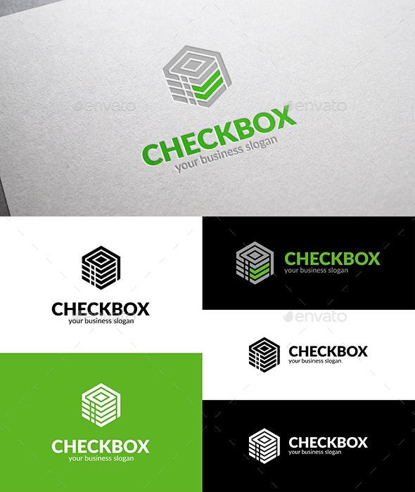 Check Box Logo - Vector Abstract