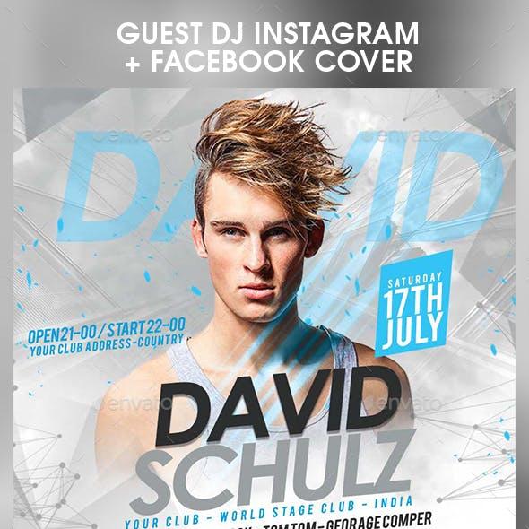 Guest DJ Instagram + Facebook Cover