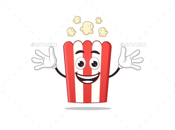 Popcorn Mascot - Miscellaneous Characters