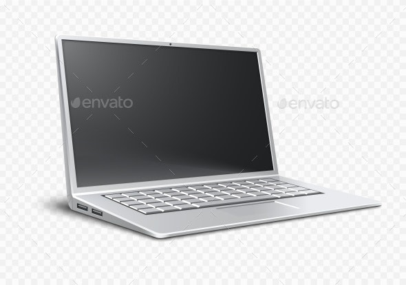 Laptop Ultrathin Modern Portable Desktop - Computers Technology