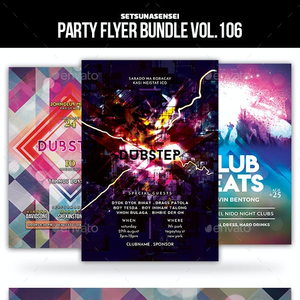 Party Flyer Bundle Vol.106