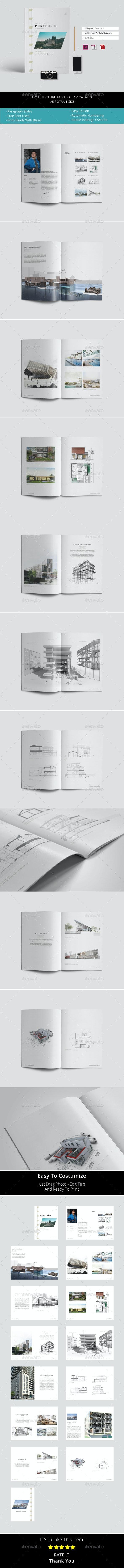 A5 Architecture Portfolio / Catalogue - Portfolio Brochures