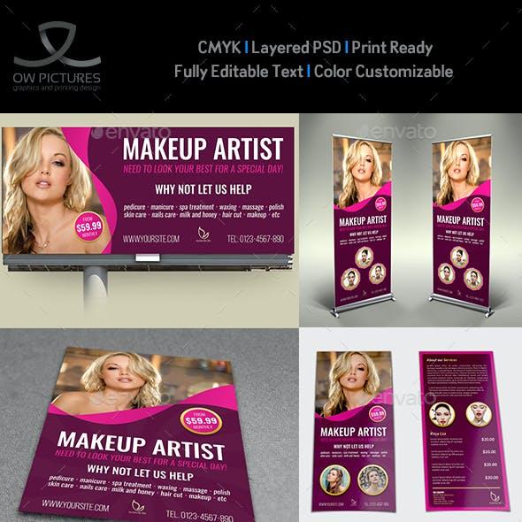 Beauty Center Advertising Bundle Vol.2