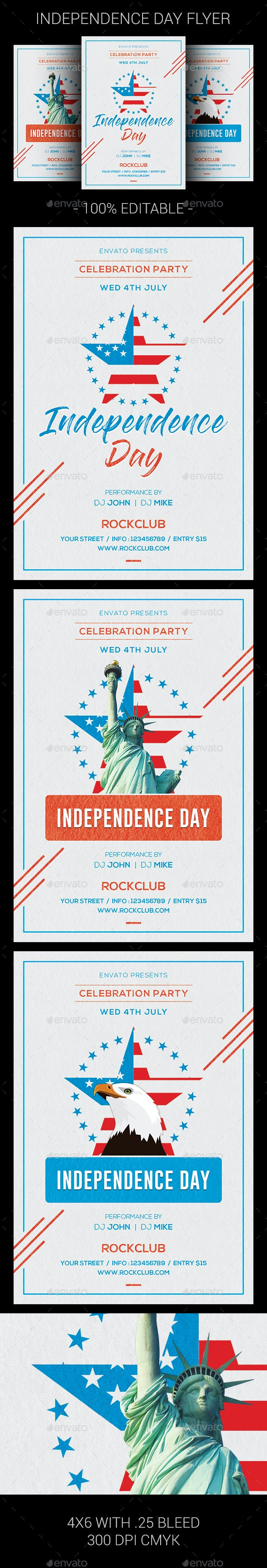Independence Day - Clubs & Parties Events