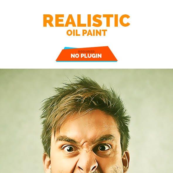 Realistic Oil Paint