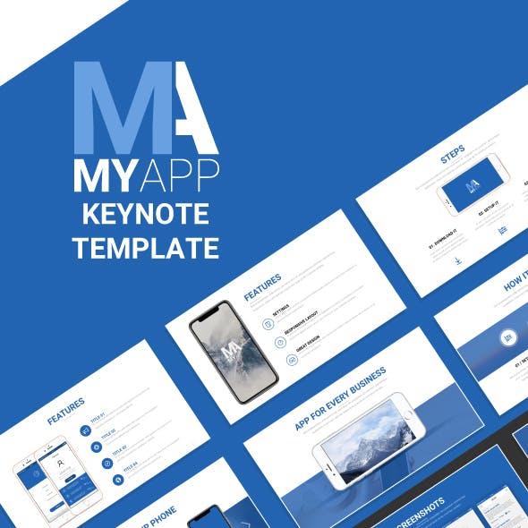 MyApp Keynote Template