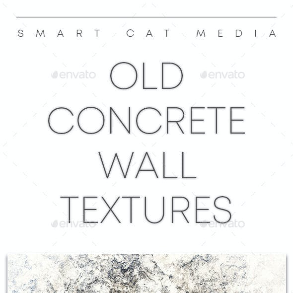 Old Concrete Wall Textures