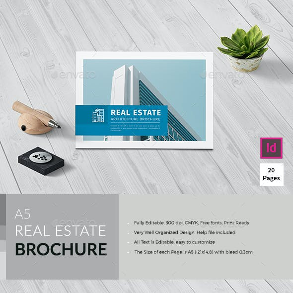 A5 Realestate / Architecture Brochure