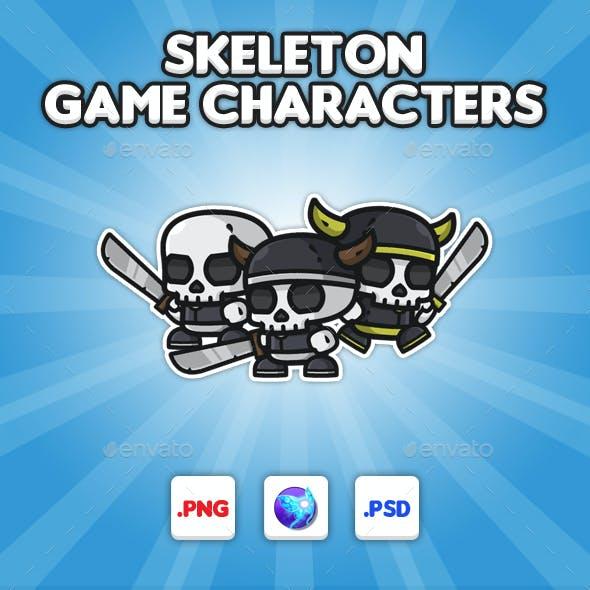Skeleton Chibi -  Game Characters