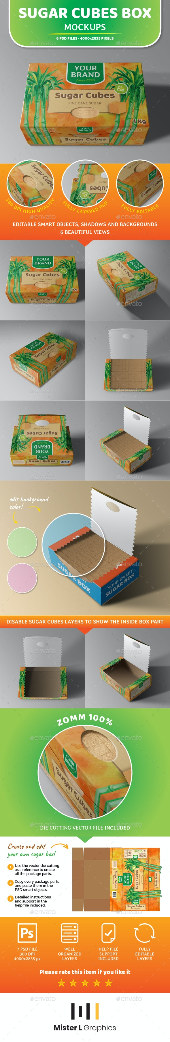 Box Mockup - Food and Drink Packaging