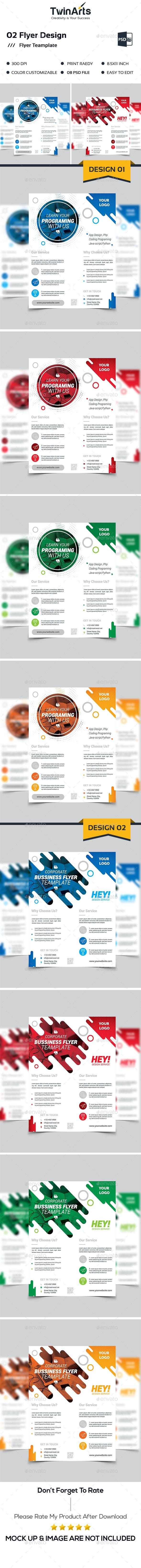 02 Corporate Flyer. - Flyers Print Templates