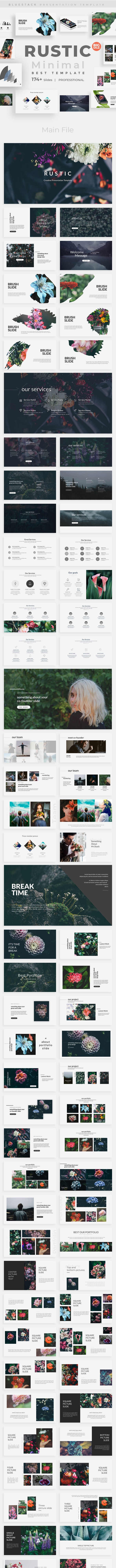 Rustic Creative Powerpoint Template - Nature PowerPoint Templates