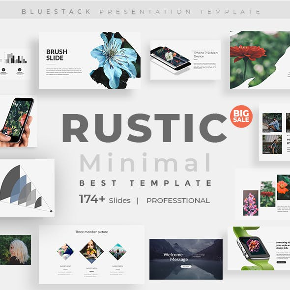 Rustic Creative Powerpoint Template