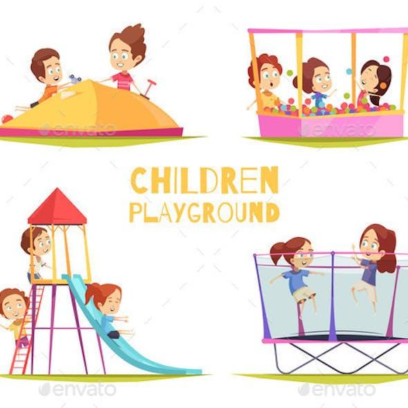 Children Playground Design Concept