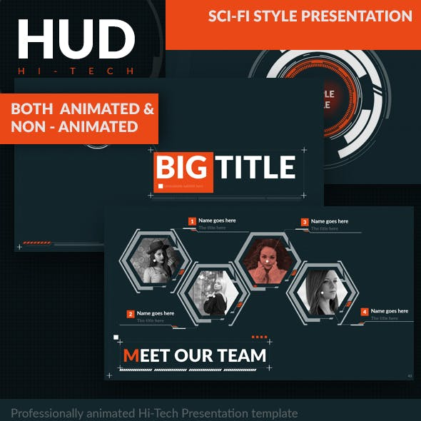 Hud - Hi-Tech Presentation Template