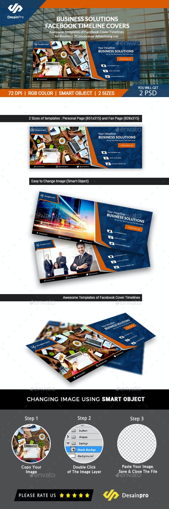 Business Solutions Facebook Timeline Covers - AR - Facebook Timeline Covers Social Media