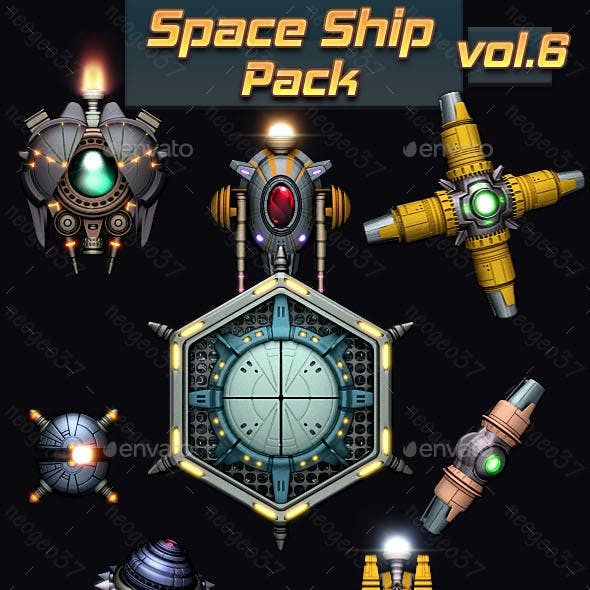 Space Ship Pack Vol 6