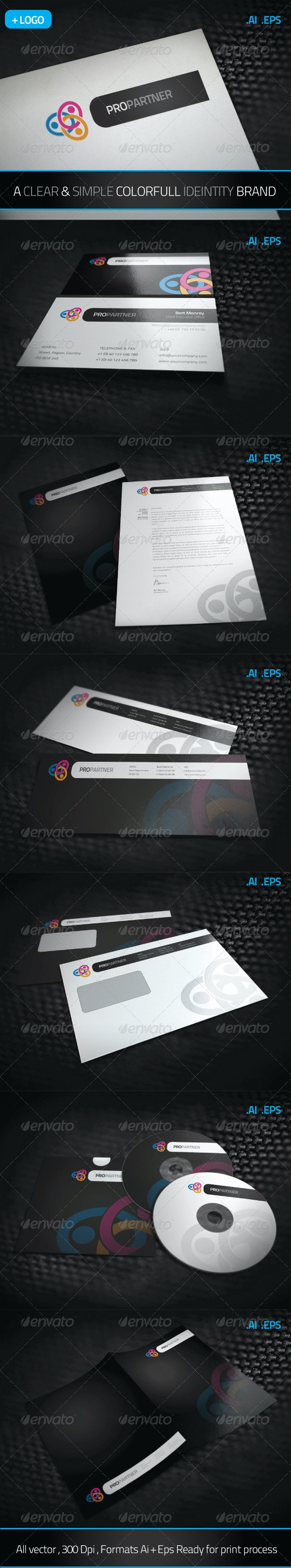 Pro Partners - Stationery Print Templates