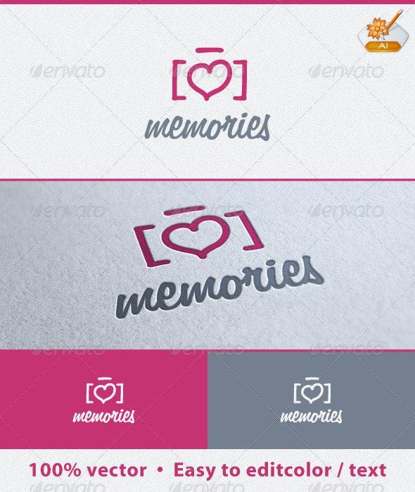 Memories Logo Template - Symbols Logo Templates