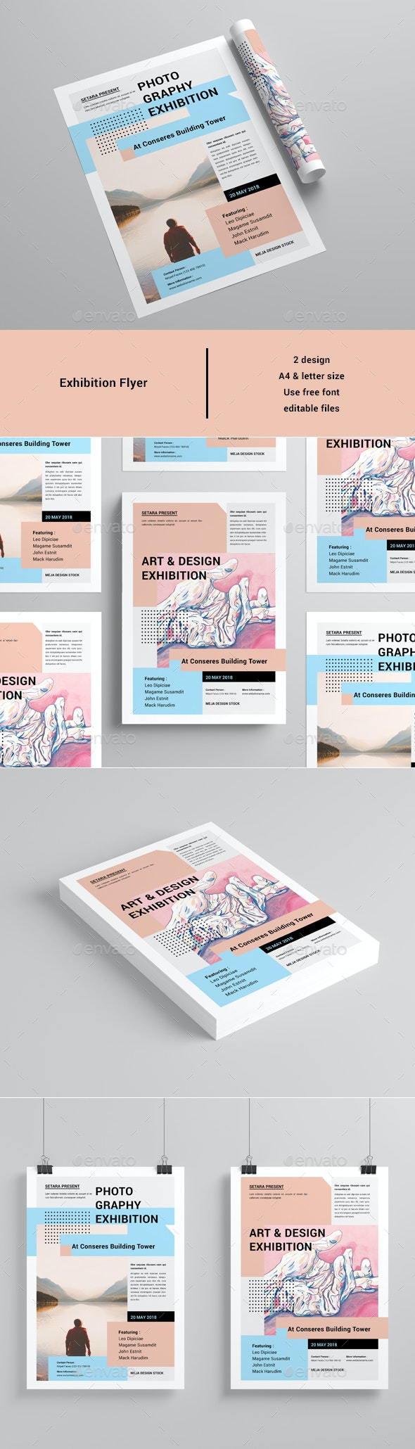 Exhibition Flyer - Events Flyers