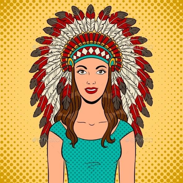 indian headdress template.html