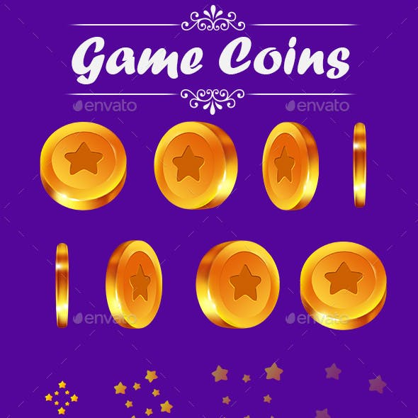 Game Coins GUI Set 2