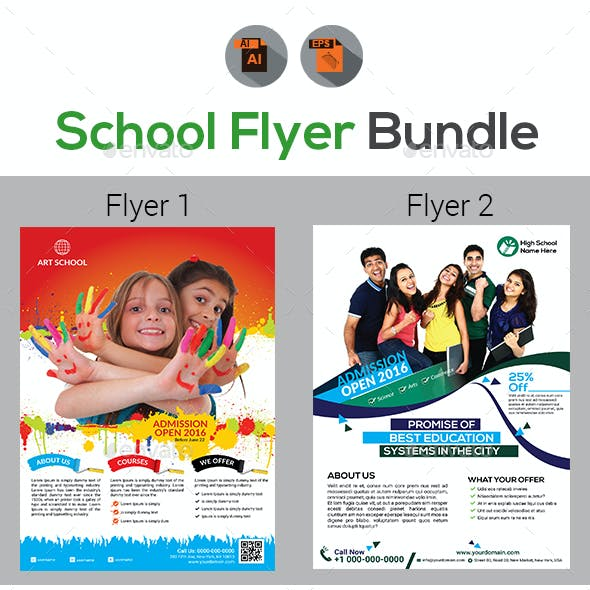 School Flyer Bundle Template