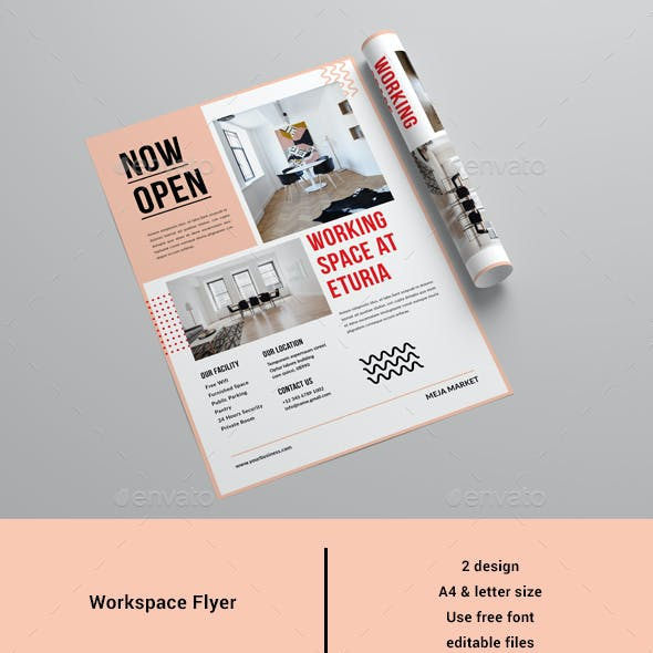 Workspace Flyer