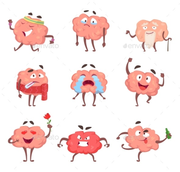 Cartoon Brain Characters - Miscellaneous Characters