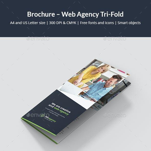 Brochure – Web Agency Tri-Fold