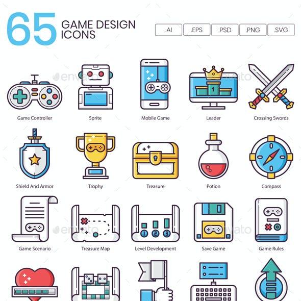 Game Design Icons