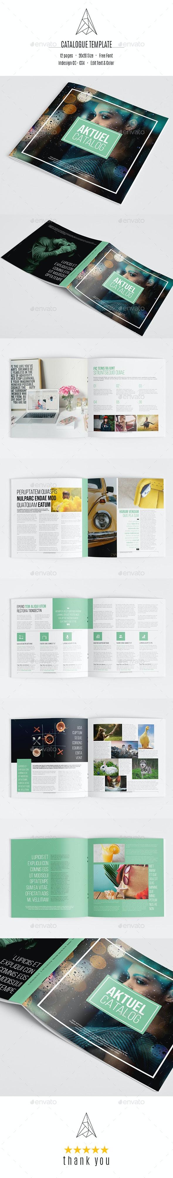 Aktuel Catalog Template - Catalogs Brochures