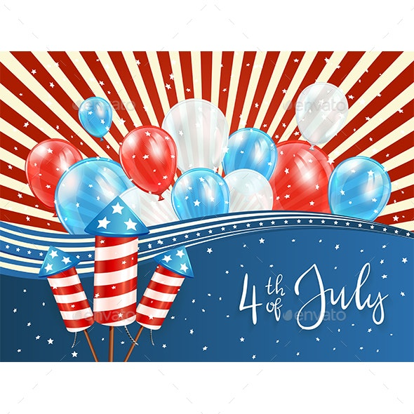 Independence Day Background - Miscellaneous Seasons/Holidays