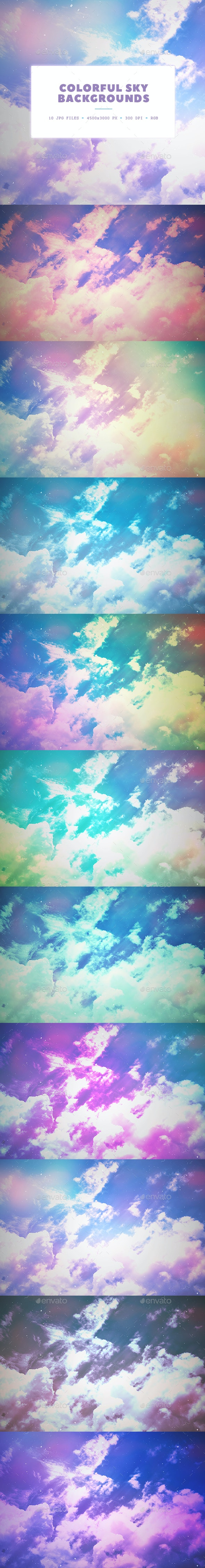Colorful Sky Backgrounds - Nature Backgrounds