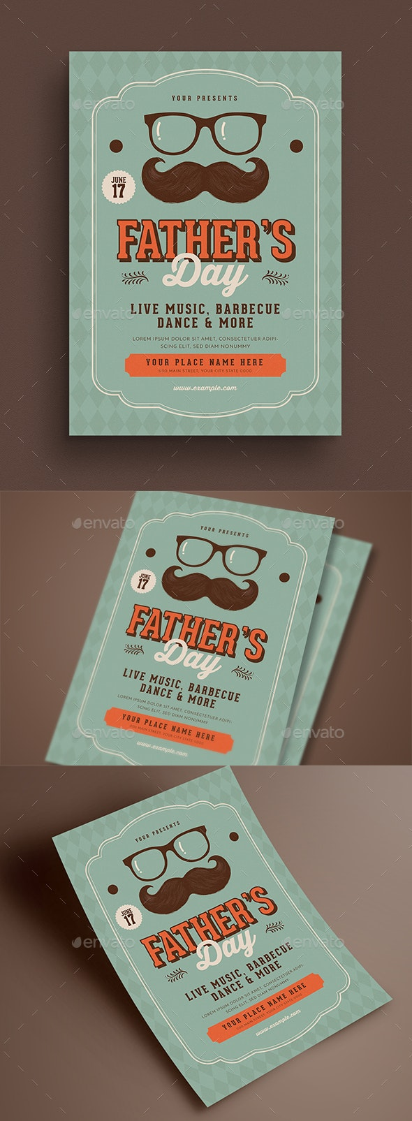 Father's Day Event Flyer - Events Flyers