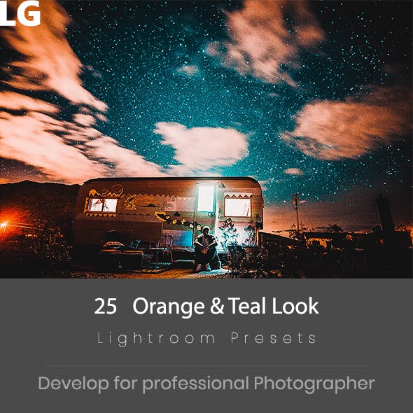 25 Teal & Orange Lightroom Presets