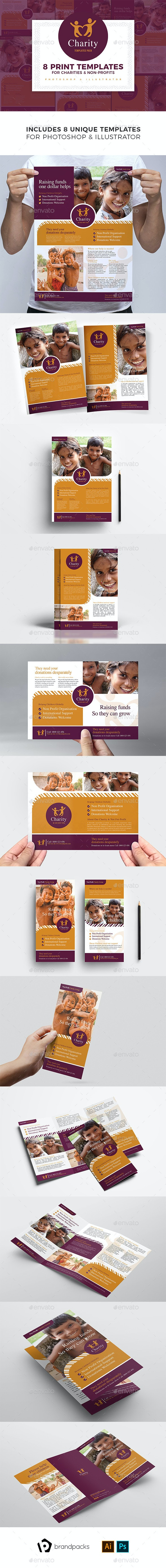 Charity Templates Bundle - Corporate Flyers