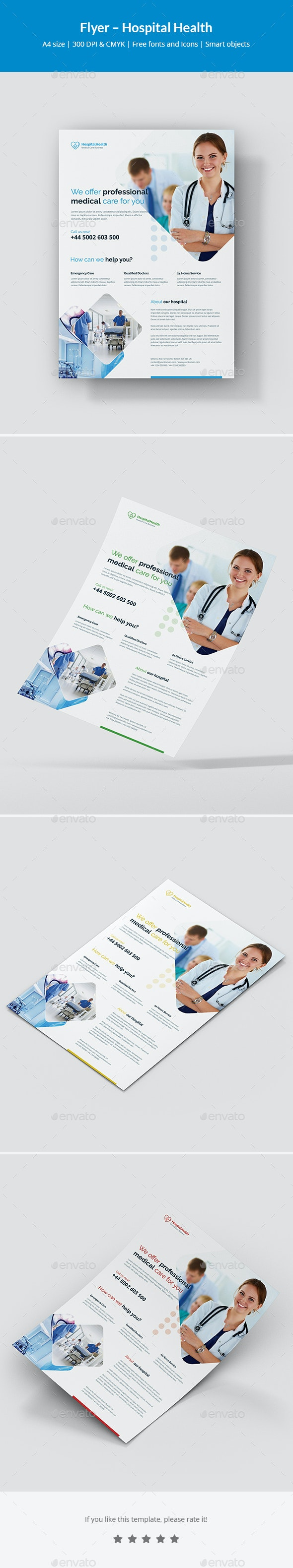 Flyer – Hospital Health - Corporate Flyers