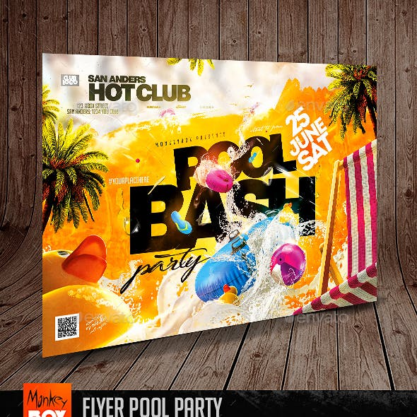 Flyer Pool Party