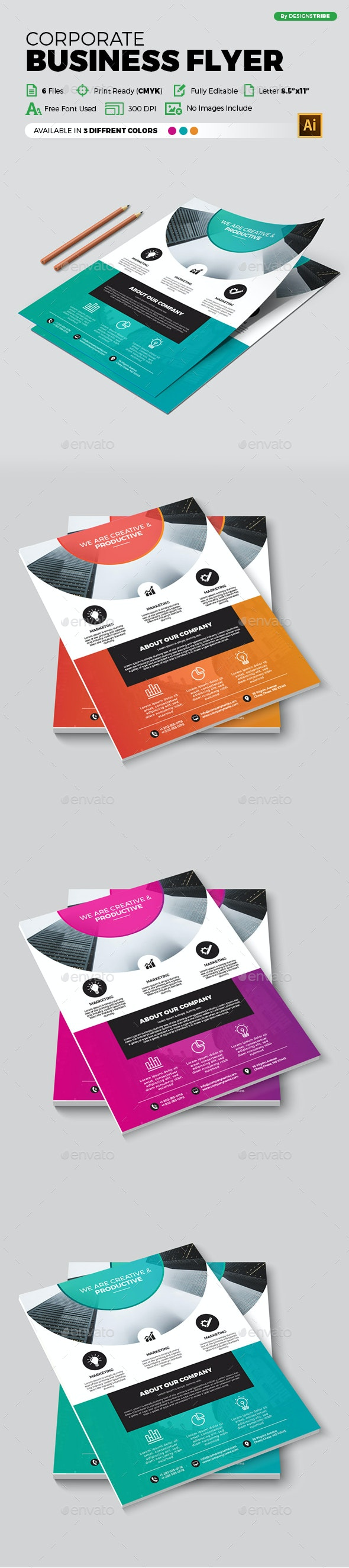 Flyer – Multipurpose 369 - Corporate Flyers