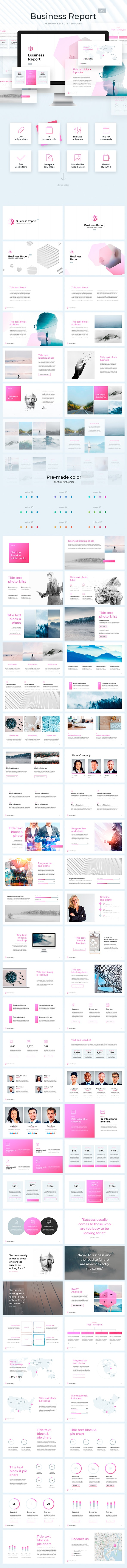 Business Report Template 2.0 for Keynote - Business Keynote Templates