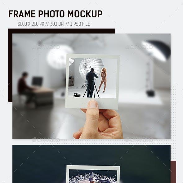 Frame Photo Mockup