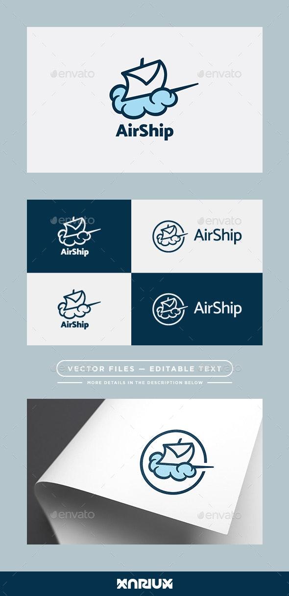 Mail Ship Logo - Objects Logo Templates
