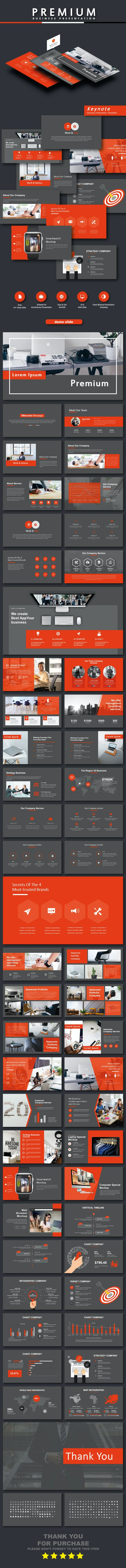 Premium Business Keynote Templates - Business PowerPoint Templates